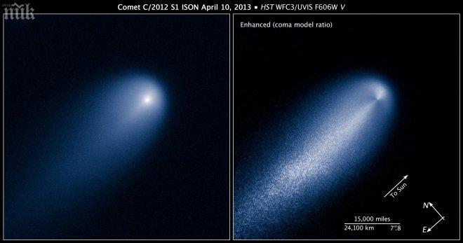 Руски учени: Странната комета ISON може да е извънземен кораб