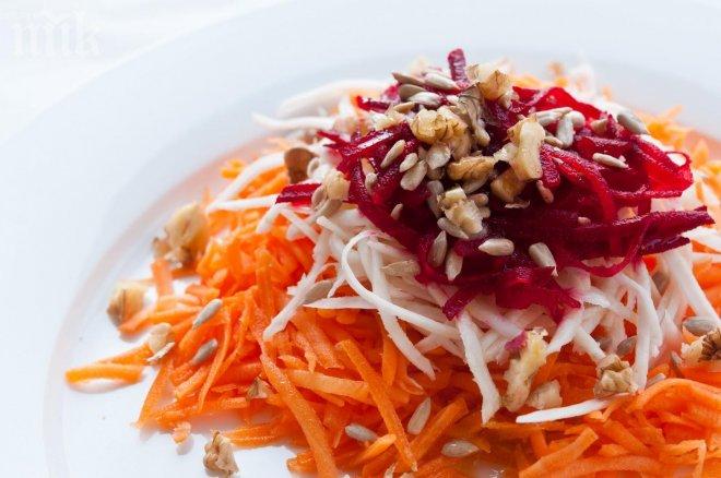 Салат из моркови для похудения рецепт с