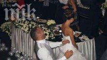 Петко и Яна са в София, отрекоха клюката, че карат меден месец в Дубай (уникални снимки от тайната им сватба)