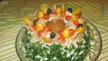 Празничен солен кекс</p><p>