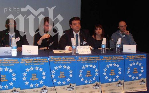 Цветелин Кънчев се срещна с европейски министри в Париж