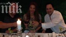 Коко Динев глези Емилия с питиета за 100 евро (снимки)