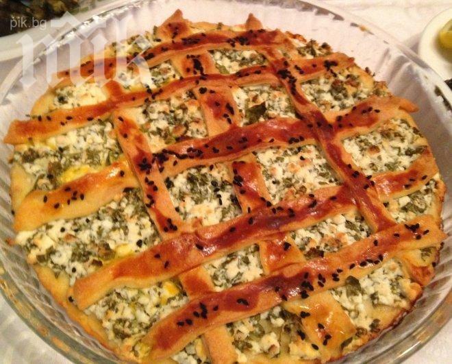 Тарта със сирене