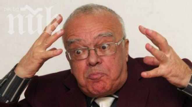 Проф. Юлиян Вучков: БСП е ултрадясна партия! Станишев е истерик! И двамата с Първанов са диктатори