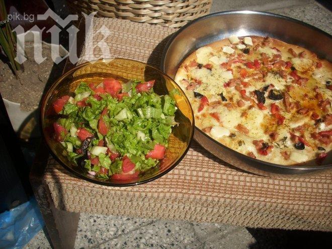 """Домашна пица """"Баба Гинче срещу Дянков"""""""