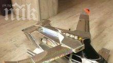 Летяща кола на пловдивски изобретател вдига 400 километра в час