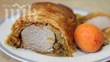 Свинско в хлебна коричка
