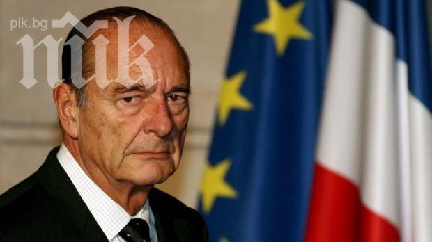 Животът на Жак Ширак е извън опасност