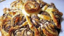 Сладка питка с мак и орехи