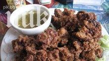 Пържени пилешки дробчета
