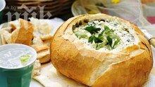 Пълнени питки със сирене