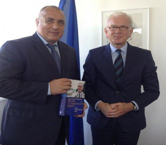 Борисов се срещна с Ханс-Герт Пьотеринг в Берлин