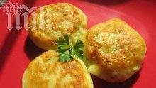 Пържени картофени питки