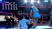 Дупето на Мая Бежанска лъсна на сцената (горещи снимки)