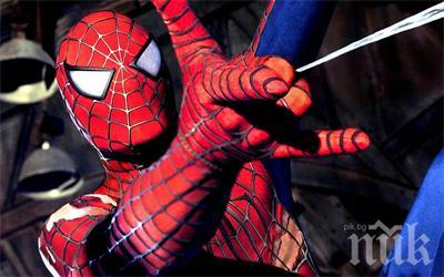 Разкриха тайната на Човека паяк