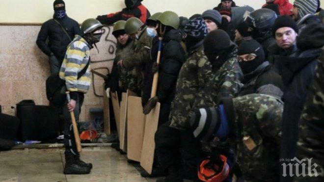"""Украински националисти от """"Десен сектор"""" били пленените руски журналисти"""