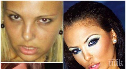 Кошмар! Лъсна истинската Николета Лозанова преди операциите (шокиращи снимки)