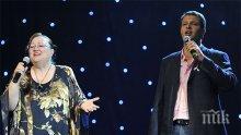 Ваня Костова и синът й спират да пеят, пазят си гласовете за конкурс