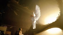 Ангел пази жена от смъртта