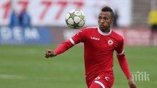 Звезда на ЦСКА излиза срещу  молдовския Зимбру