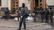 Изстрели и взривове се чуват край летището в Донецк