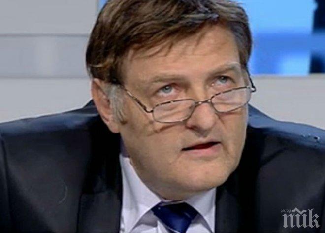 Министър Данов си писа тройка за незаконните постройки в България