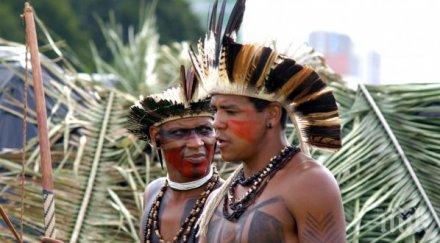 бразилия група индианци първи път установили контакт цивилизацията