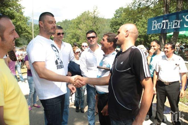 Бареков вдъхна надежда за нови работни места на хората от Разлог