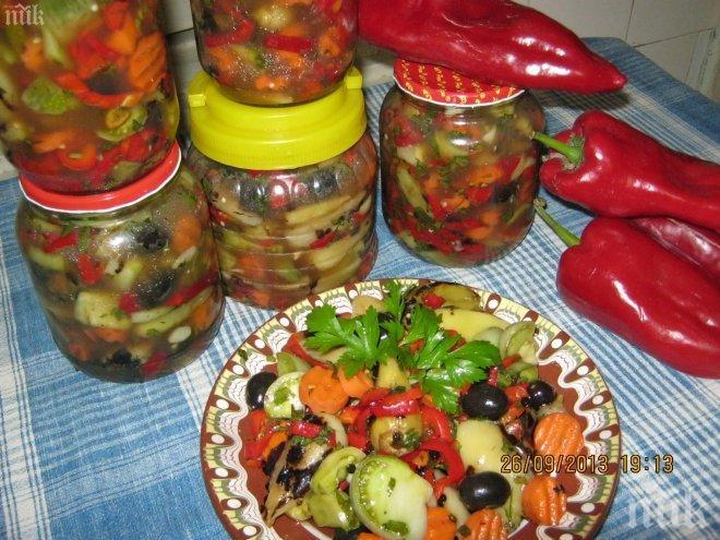 Туршия – гръцка салата