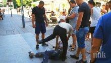 Сервитьор спипа крадец в центъра на Бургас