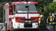 Трактор изгоря при пожар в Сливен