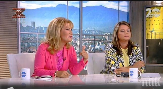 Зверски скандал в ефира на Нова тв! Соня Колтуклиева и Нора Стоичкова се обвиняват взаимно за това коя откъде получава пари