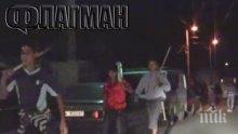 Потресаващ разказ за мелето в Бургас! Озверелите роми едва не убили полицаите в Комлука