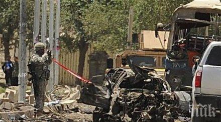 Мощен взрив в дипломатическия квартал в Кабул