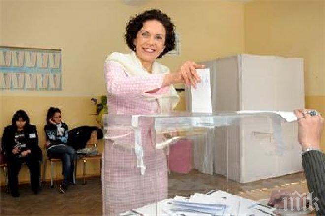 Антония Първанова: Гласувам за младите, за това те да имат бъдеще в България