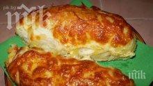Банички с кашкавал и сирене
