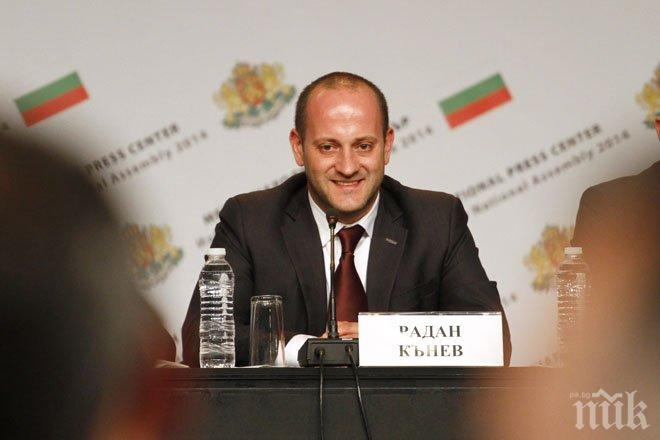 Радан Кънев: Бихме се изненадали, ако при този резултат ГЕРБ предложат Борисов за премиер