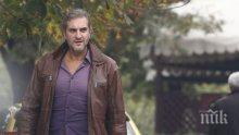 Юлиан Константинов се запусна фатално – цепна риза с бирено шкембе (папарашки снимки)