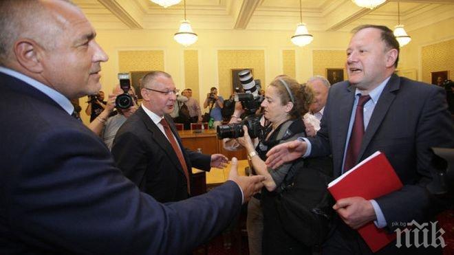 Вторият кръг преговори между ГЕРБ и БСП пред провал! Миков не иска да ходи при Бойко