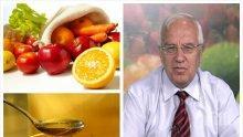 """Диетолог №1 проф. Христо Мермерски пред ПИК и """"Час Пик"""": Ето кои са храните срещу рака"""