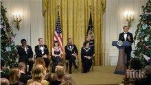 Обама награди Стинг и Том Ханкс