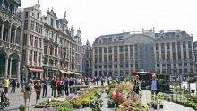 Национална стачка блокира Белгия, самолетните полети са анулирани