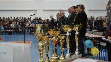 """НСА """"Васил Левски"""" награди най-успешните си спортисти за 2014 г."""