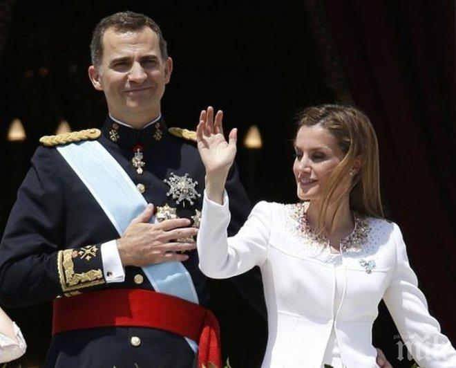 Испанският крал Фелипе VI атакува корупцията