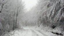 След снежната буря във Великобритания има риск от поледици