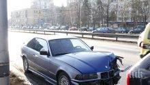 """Само в ПИК! Катастрофа на """"Цариградско шосе"""" под носа на Кери (снимки)"""