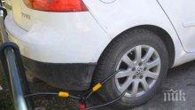 Спукаха гумите на служебните автомобили на данъчните инспектори в Битоля