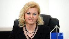 Колинда Китарович положи клетва като президент на Хърватия</p><p>