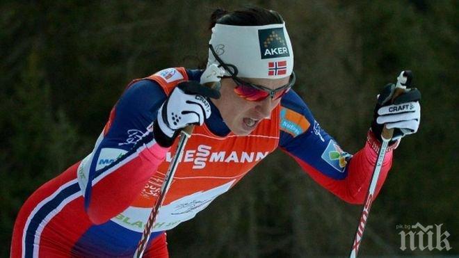 25aa01d9024 Марит Бьорген спечели Световната купа в ски-бягането -...