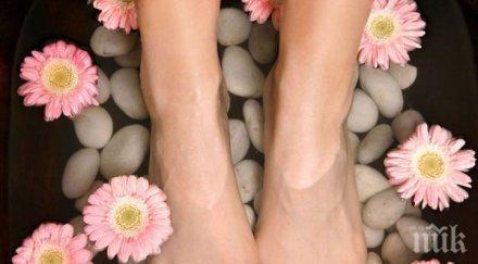 Оцетът и содата - най-ефикасното лекарство срещу гъбички на краката. Вижте как! (снимка)
